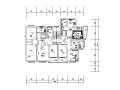 一梯两户住宅户型设计图(面积100至110㎡)