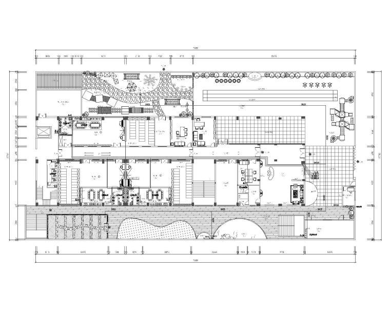 五层幼儿园室内装修工程给排水施工图