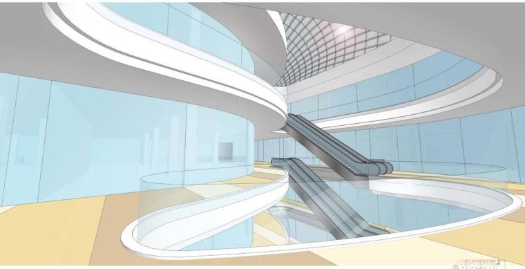 [四川]现代流线企业办公楼建筑方案文本
