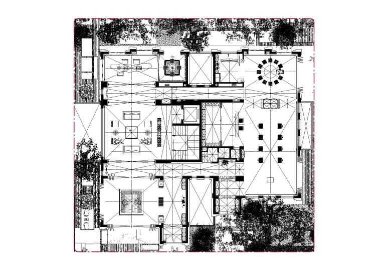 广州东湖轩3号别墅效果图+概念方案+平面图