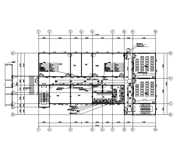 贵州小学扩建楼暖通施工图