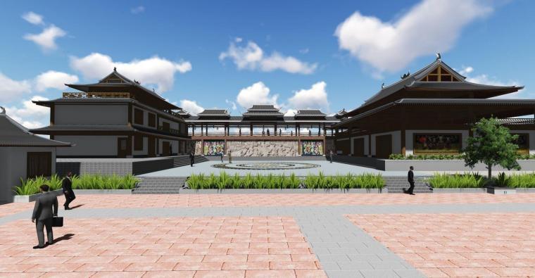土家族农村改造建筑模型设计