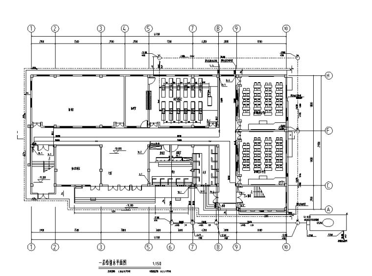 贵州小学扩建给排水设计施工图
