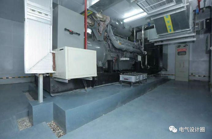柴油发电机的容量选择,以及柴油发电机机房