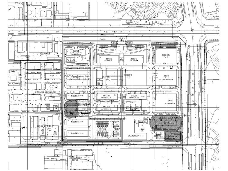 某药品生产厂合成车间电气施工图