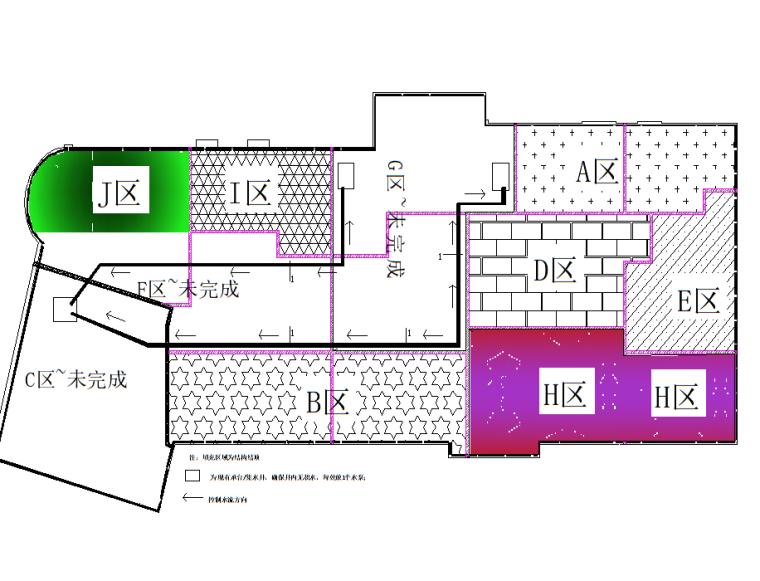 [苏州]广场项目地库区域停工保护方案