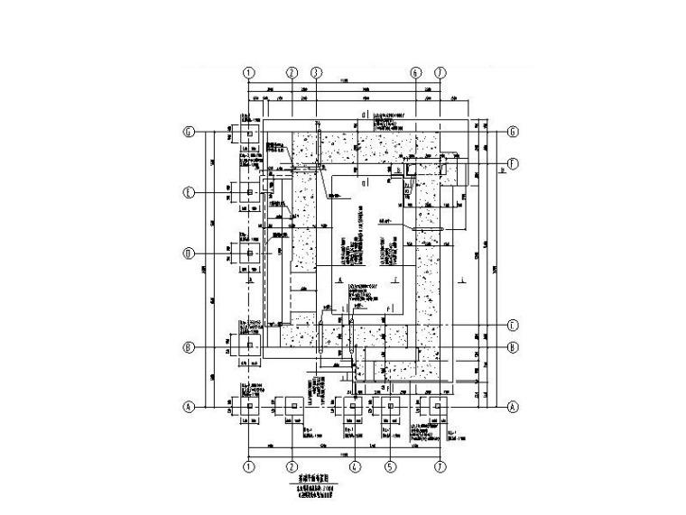 单层框架/混凝土墙工业厂房结构施工图2018