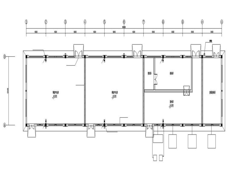 某药品生产厂甲类仓库电气施工图