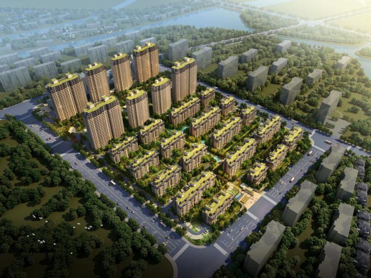 [浙江]金都南德大院住宅景观模型设计