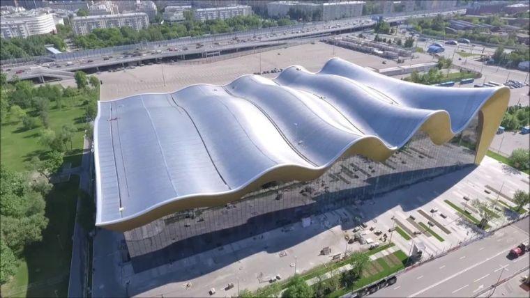 莫斯科艺术体操中心设计BIM解析