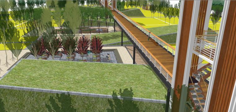 [江苏]徐州田园湿地景观模型设计