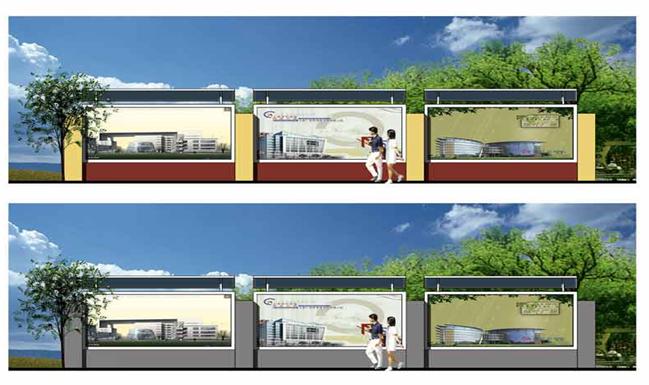 建设施工工地围挡和大门方案(图例及图纸)