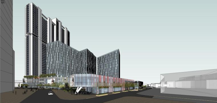 [江西]南昌象山公馆建筑模型设计