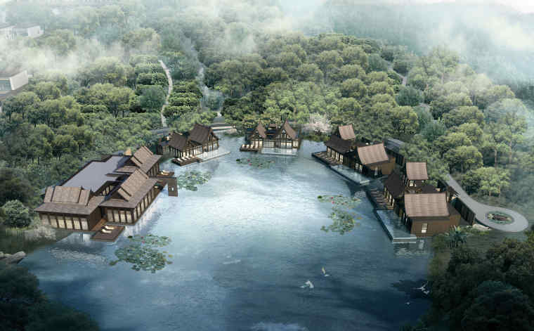 西双版纳万达文华度假酒店景观深化方案