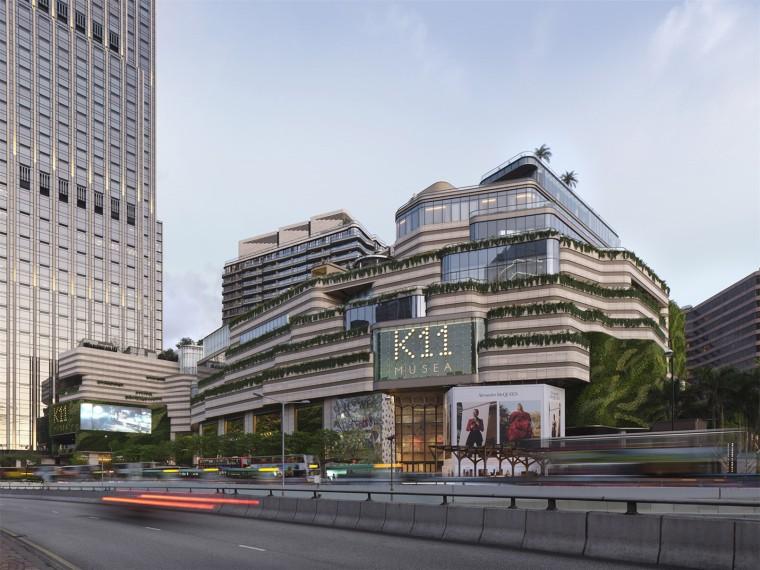 香港K11MUSEA商业建筑