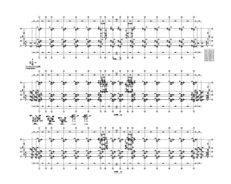 大型装配式金属结构看台施工图