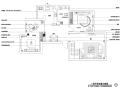 三居室地中海风格住宅装修施工图+效果图