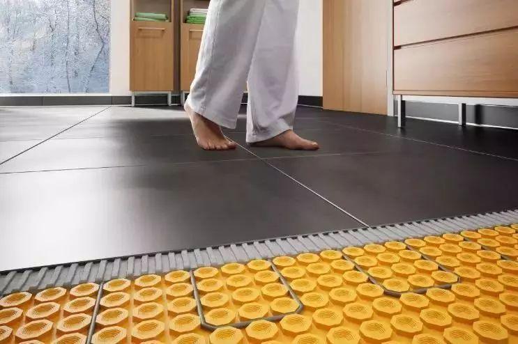 地暖安装三分材料,七分施工严控工艺质量!