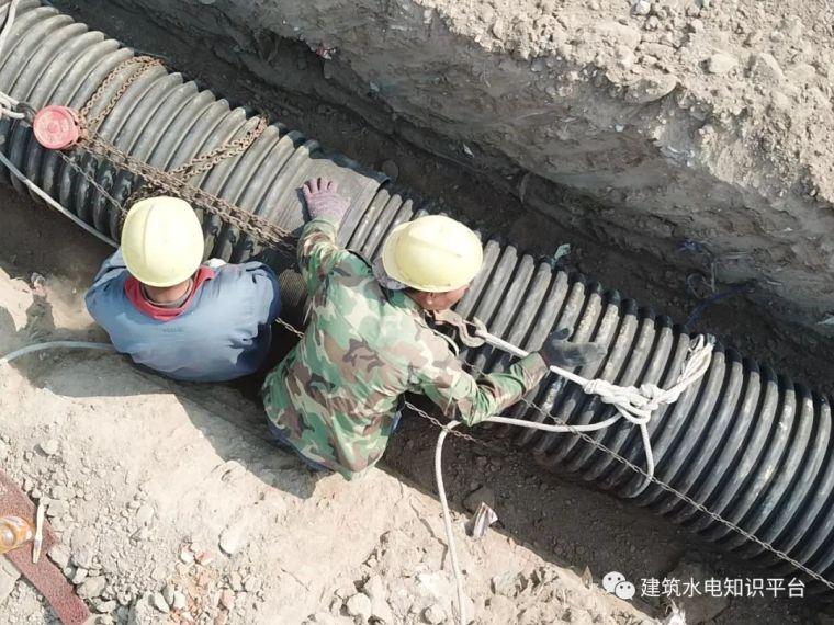 室外管网施工原则及要点汇总
