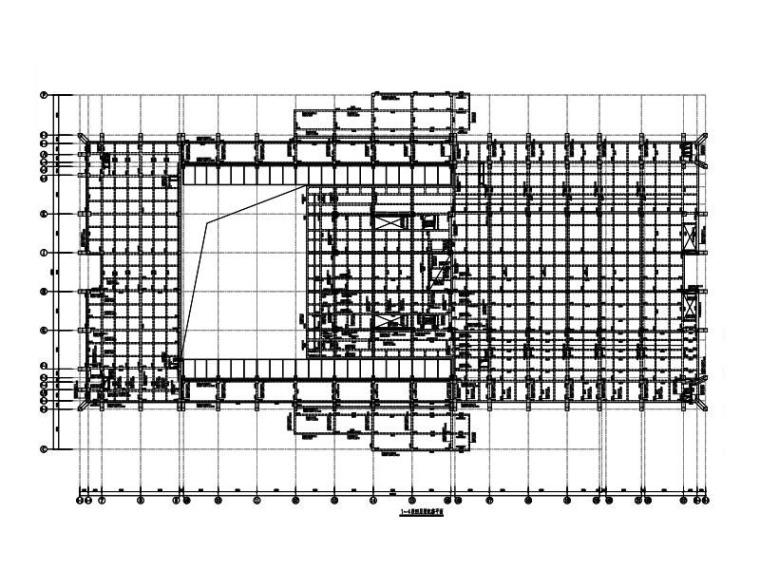 3层博物馆钢混框架+钢框架结构施工图(SRC)