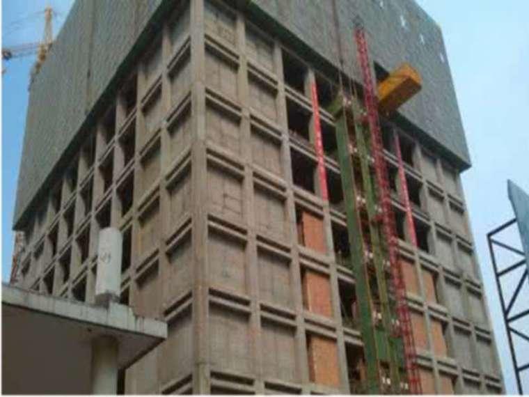 预制混凝土框架