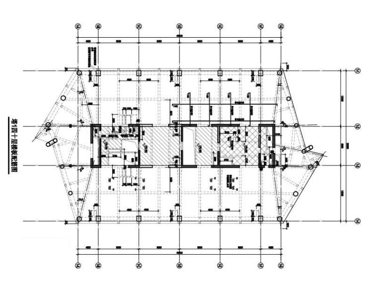 塔1四十层楼板配筋图