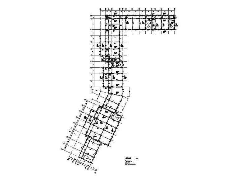 仿古建筑商业街结构施工图(含模型计算书)