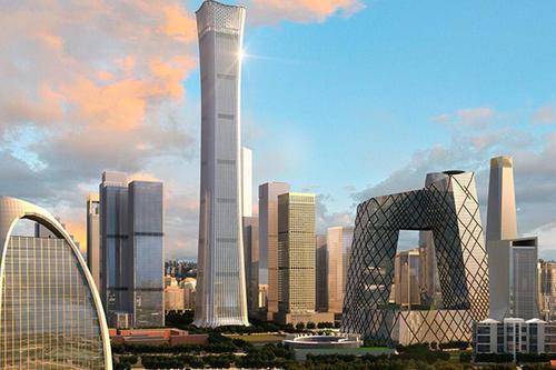 各城市地标性建筑BIM应用案例