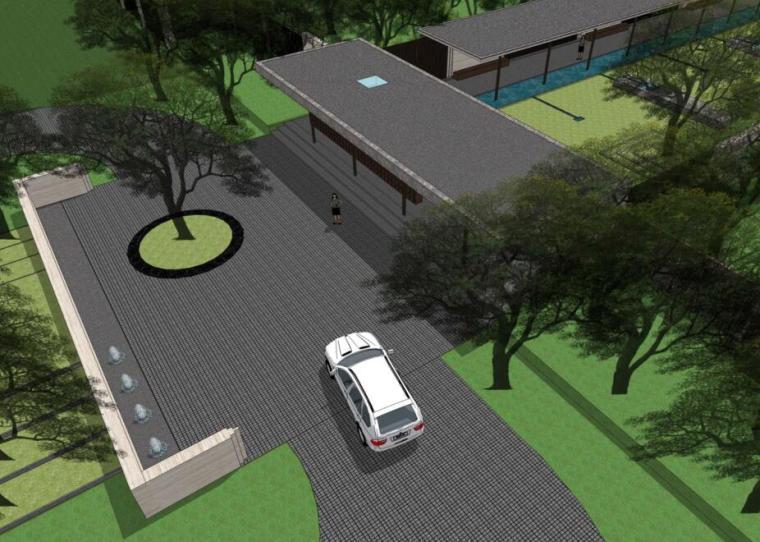 [湖北]武汉正荣府展示区景观设计方案