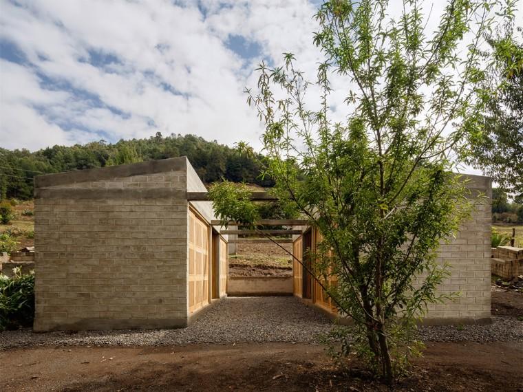 墨西哥Ocuilan震后安置住宅