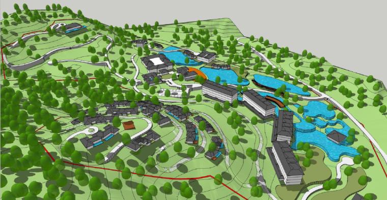 清远·天子山·隐珑庄度假村概念规划方案