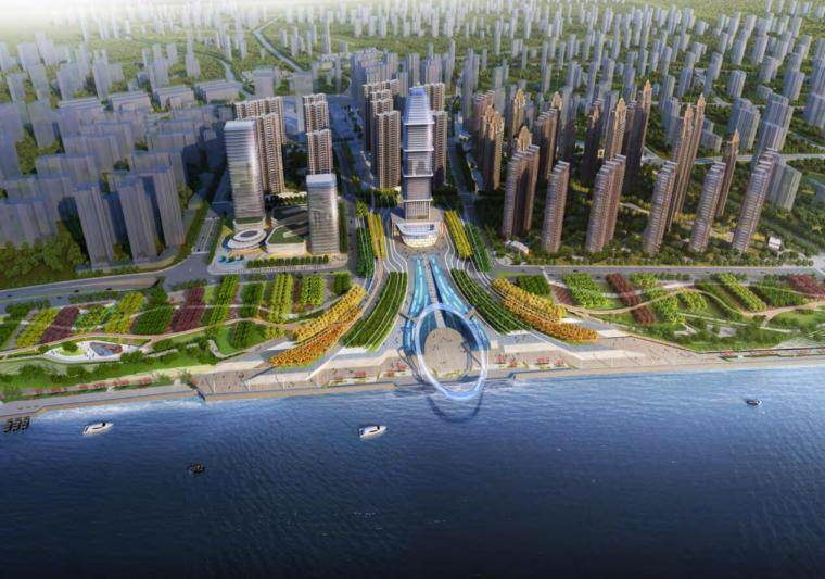 [江苏]中央商务区滨江住宅区景观设计方案