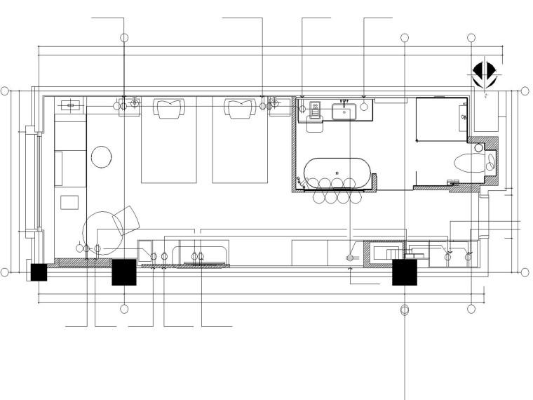 长白山希尔顿酒店电气施工图