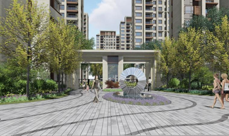 [上海]海璞樾国际住宅示范区景观方案文本