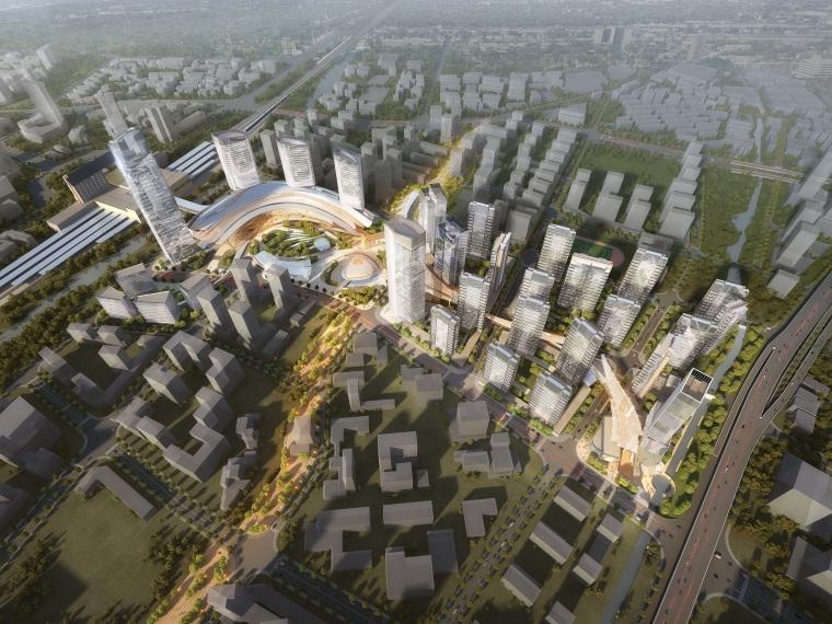 杭州站东侧望江新城项目综合开发概念设计