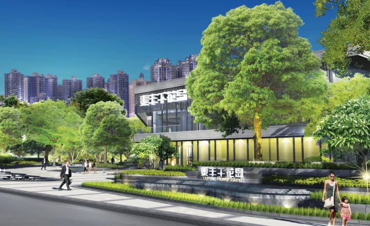 [江苏]现代风格科技城大区景观方案文本
