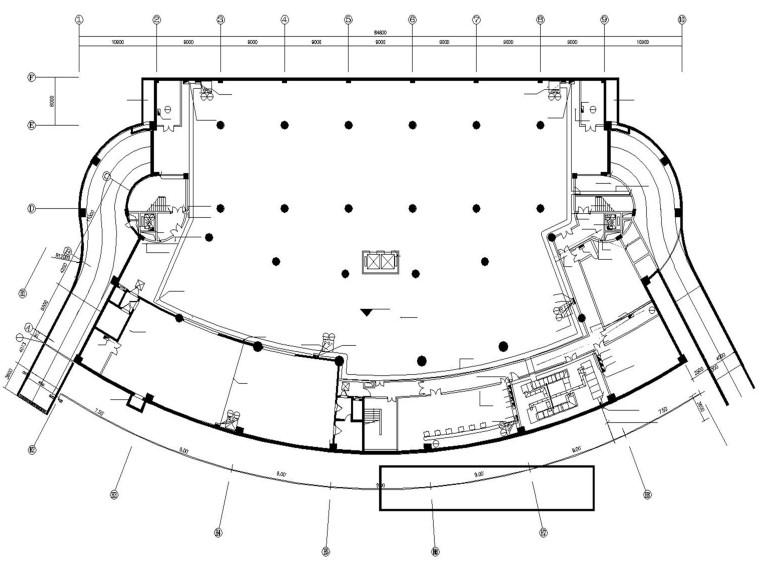 某特区体育馆全套电气施工图