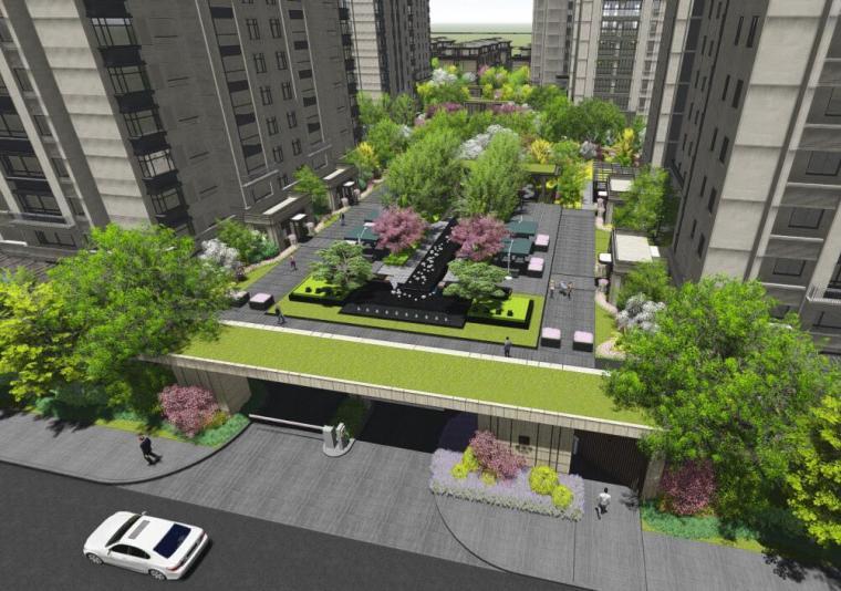 [安徽]金茂湾住宅景观深化方案设计
