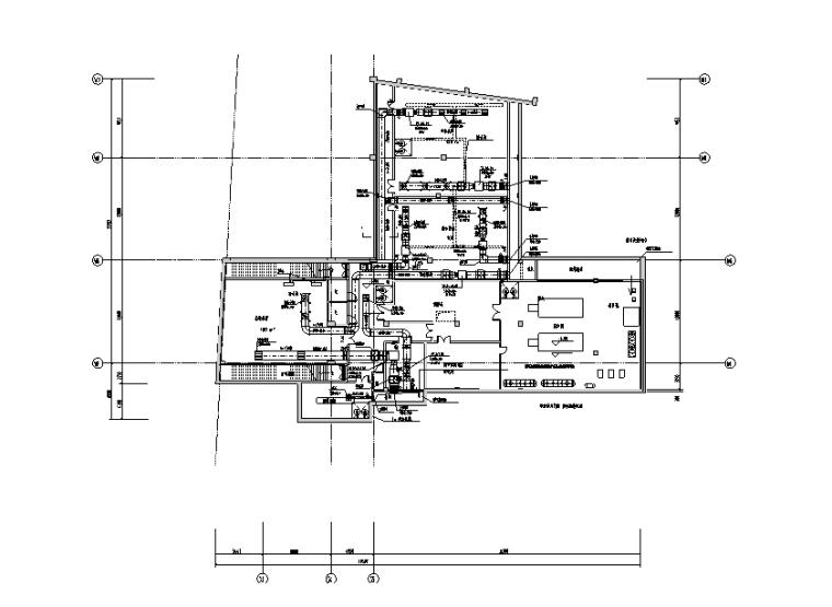 天津国际大学教学楼暖通施工图