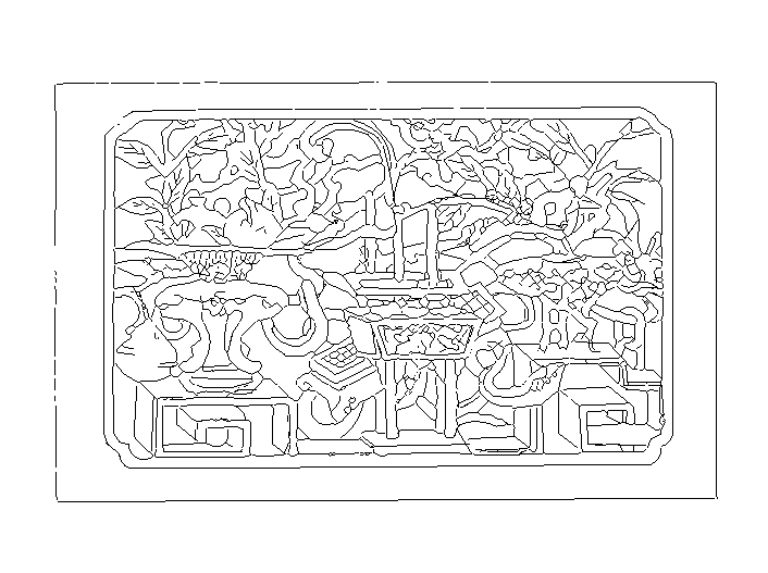 中式纹样图块CAD图纸