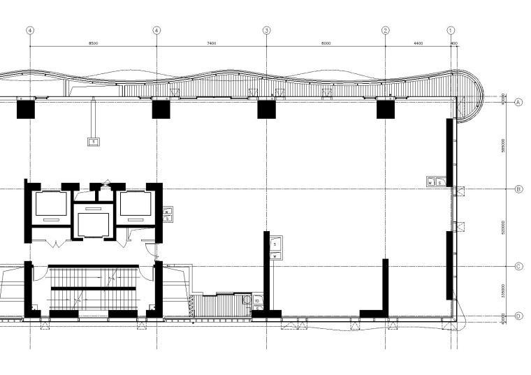 [厦门]-恒河七尚高层8#B户型公寓施工图