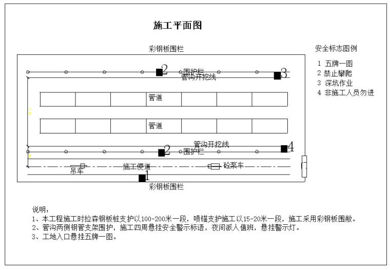 [广州]污水管网工程钢板桩支护专项施工方案