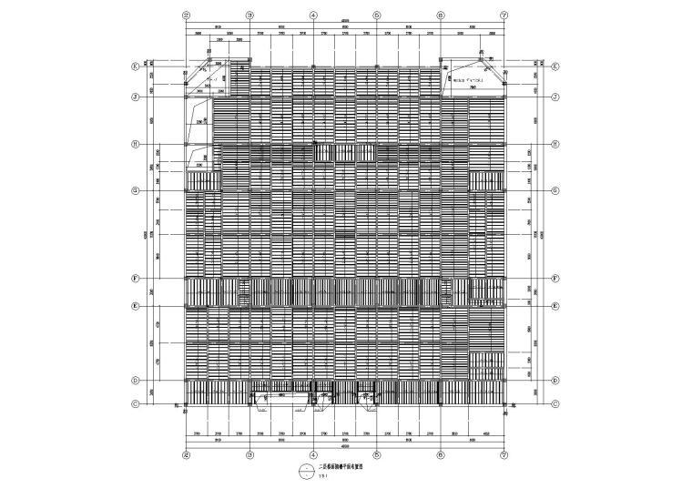 某胶合木结构报告厅结构施工图纸