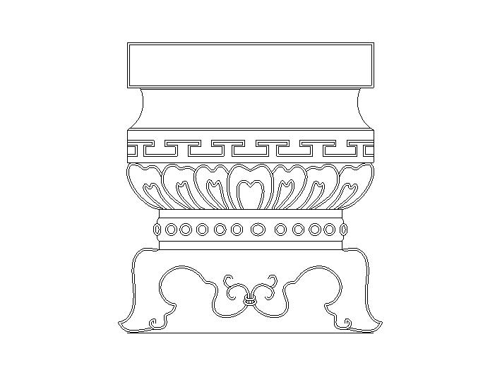 39套建筑常用中式支敦大样图(CAD)