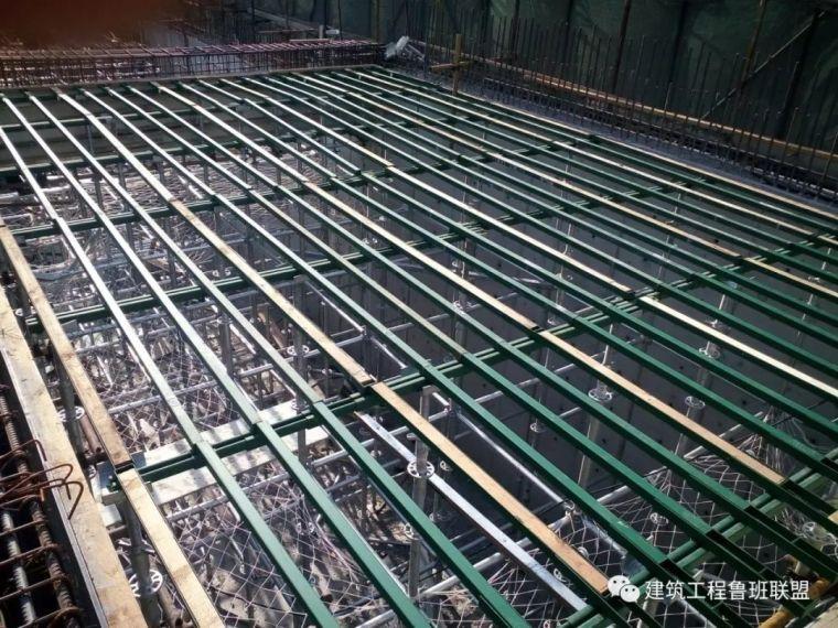 当下最流行的施工工艺:木模板+钢支撑