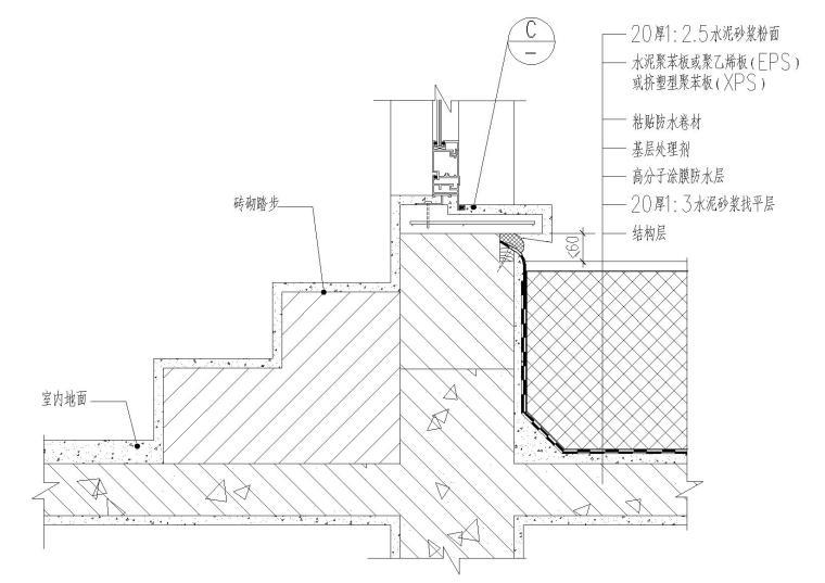平屋面建筑构造(保温防水,山墙挑沿等)