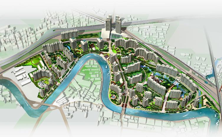 居住小区开发规划设计(169页)