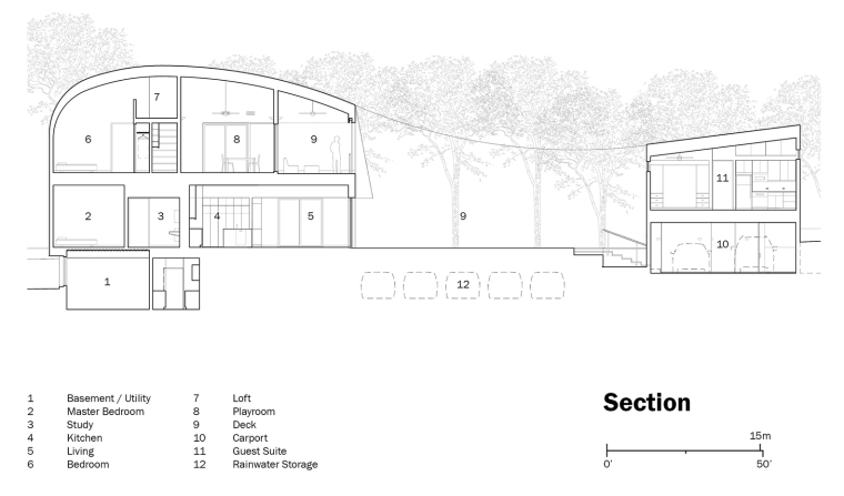 06_Westridge_Residence_Miro_Rivera_Architects_Section