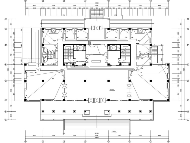 某大学图书馆电气设计图纸全套