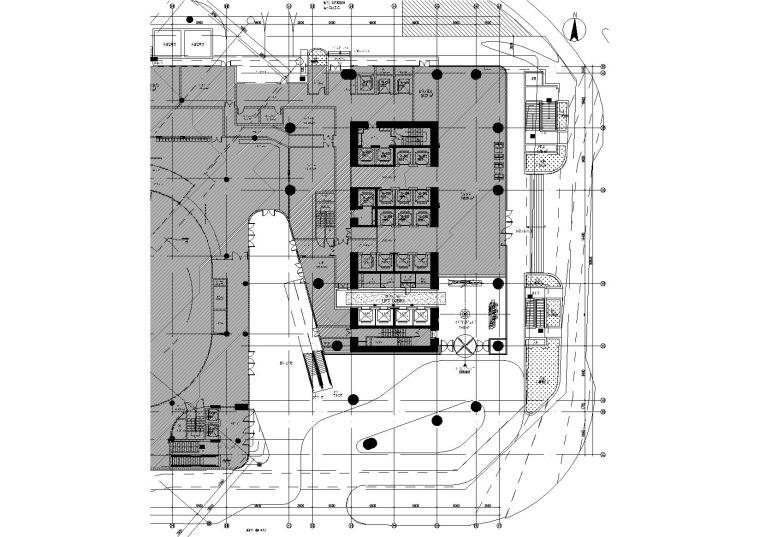 [广东]深圳地铁大厦皇冠假日酒店设计施工图